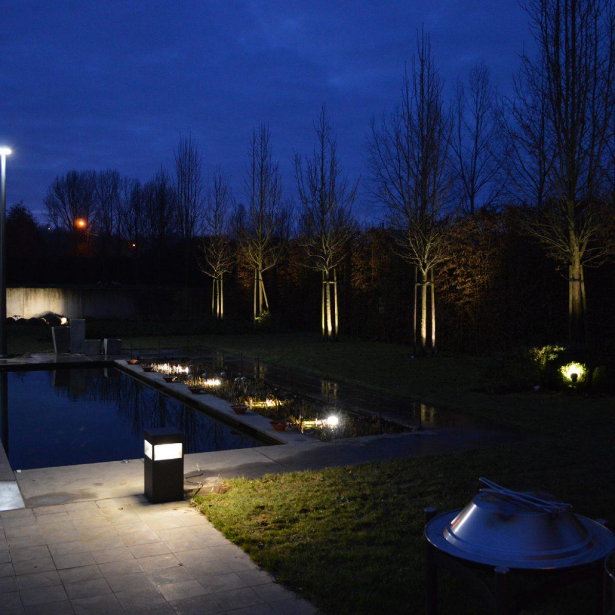 Tuinverlichting Kluisbergen